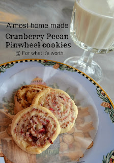 Cookie dough pinwheels
