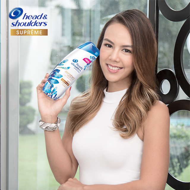Janina Manipol on Head and Shoulders