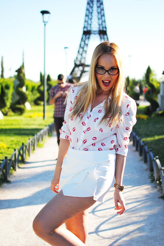 Nery hdez, lip kiss, tideshe, tideshe blogger, origami, skort
