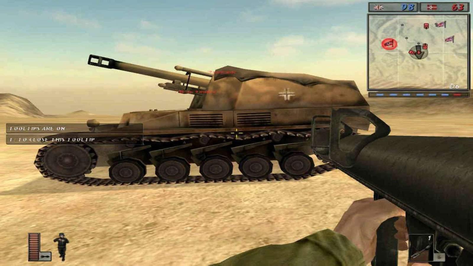 تحميل لعبة Battlefield 1942 مضغوطة برابط واحد مباشر كاملة مجانا