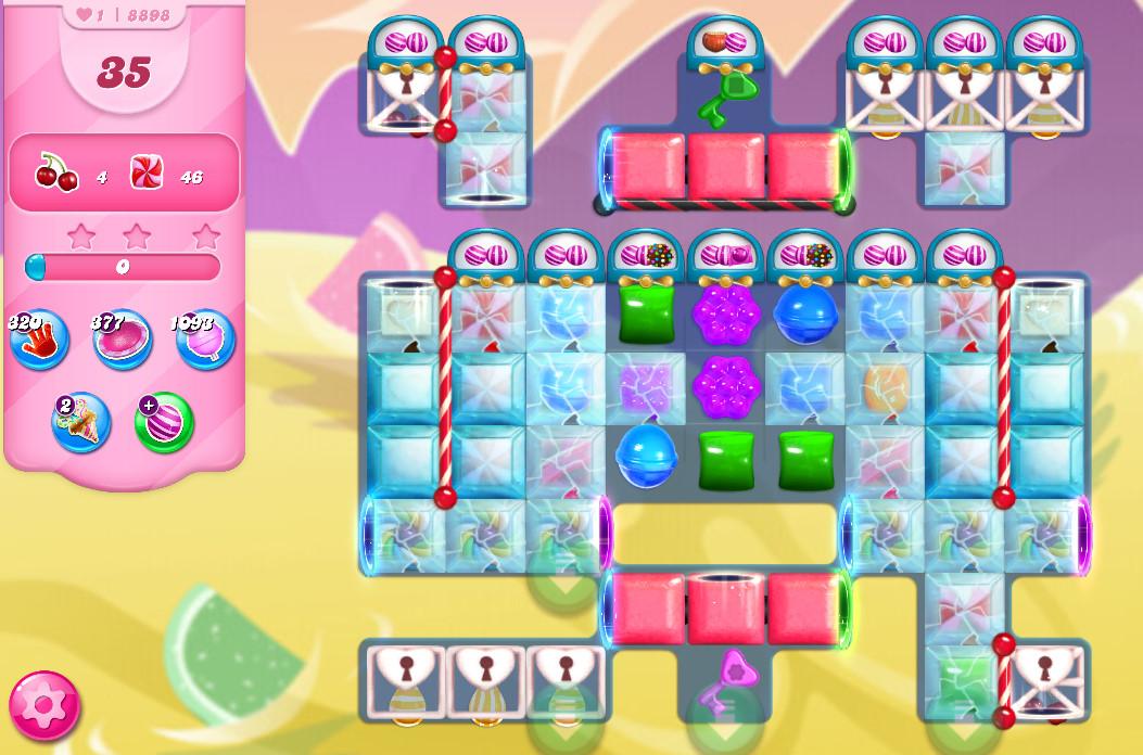 Candy Crush Saga level 8898