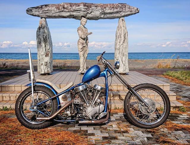 Harley Davidson Panhead By Toshio Mizushima Hell Kustom
