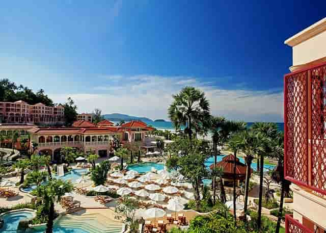 Тайланд Пхукет отель Centara Grand Beach Resort