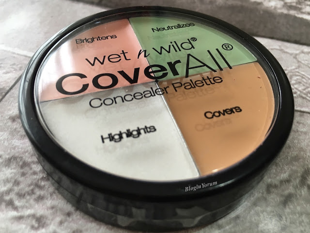 wet n wild coverall concealer palette incelemesi 1
