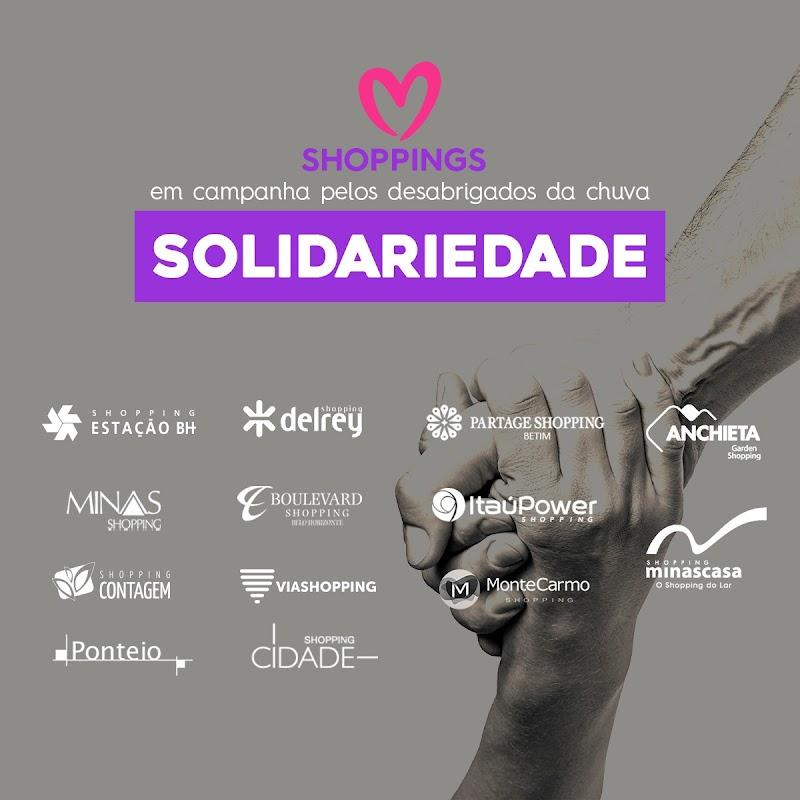 Shoppings se transformam em pontos de doações para afetados pelas chuvas em Minas Gerais