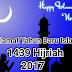 Kumpulan Kata Ucapan Tahun Baru Islam 1439H Tahun 2017 Terunik Dan Terbaru
