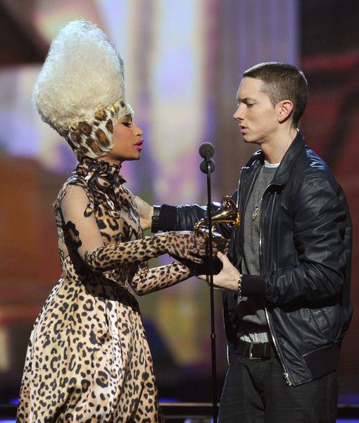 Nicki Minaj Says She's Dating Eminem