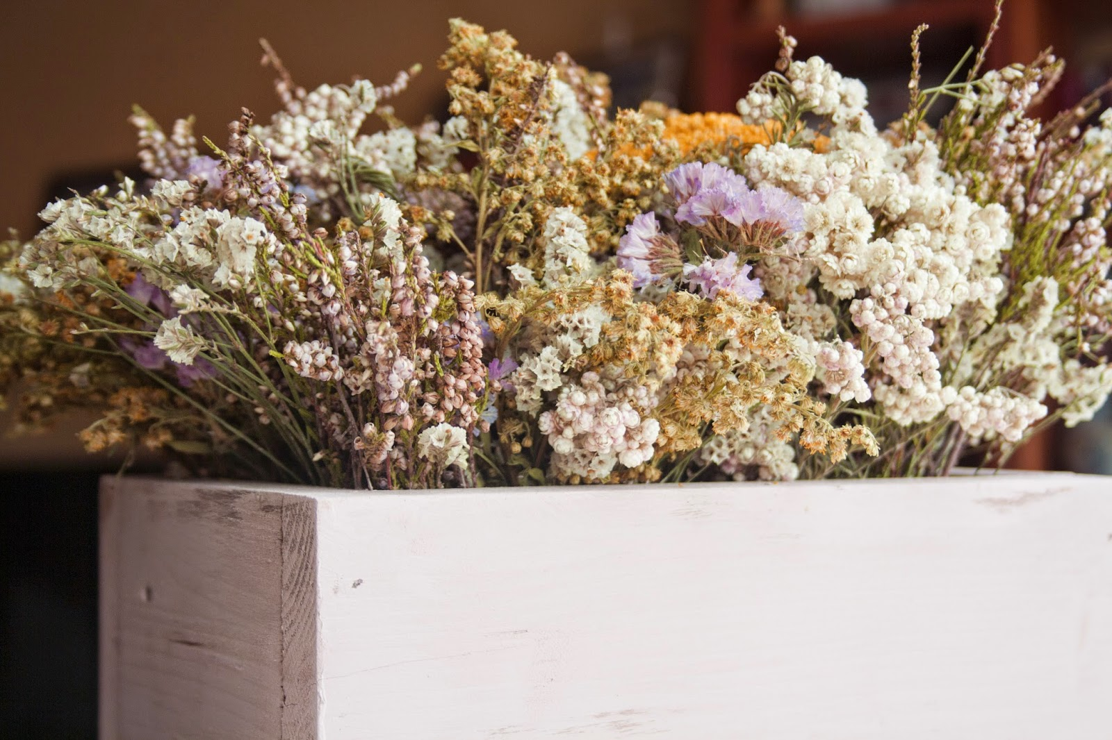 decoracin flores secas