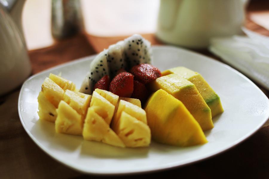 dragonfruit fruit salad