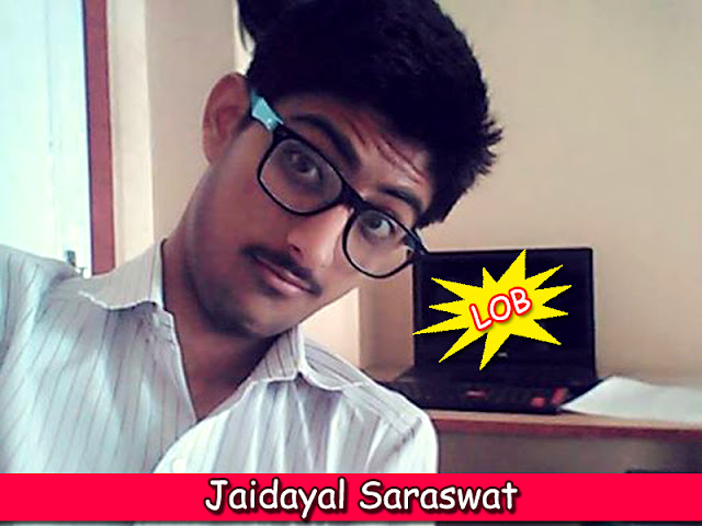 Jaidayal Saraswat from BlogoCharge