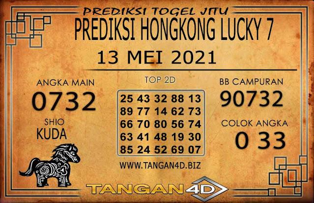 PREDIKSI TOGEL HONGKONG LUCKY 7 TANGAN4D 13 MEI 2021