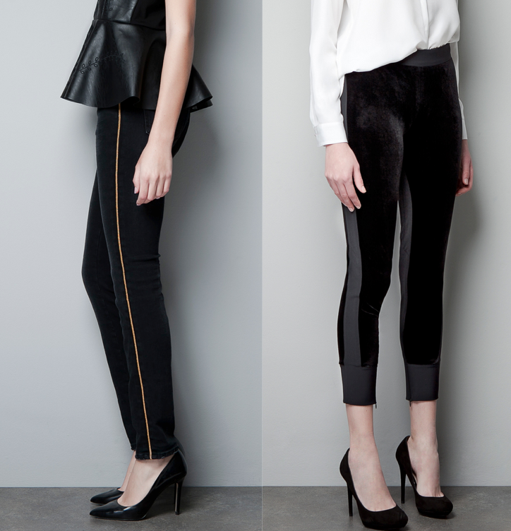 Vive La Mode Fall Trend Side Striped Trousers