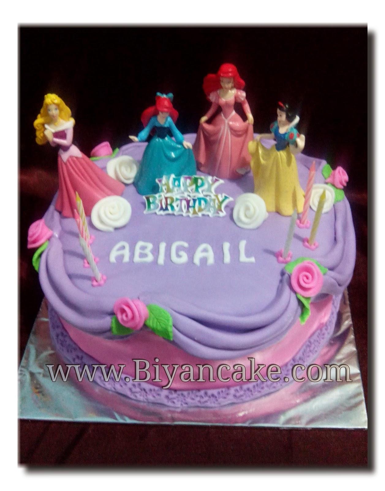 Biyancakes Pesan Cake Di Bekasi Cake Princess Abigail