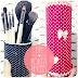 DIY - Como fazer porta pincéis de maquiagem