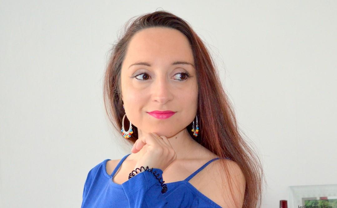 photo - selfie - bijoux zabok portés - enluminateur - crayon - enluminateur facile
