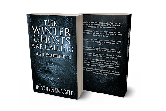 British Fantasy Society Reviews The Winter Ghosts are Calling by Vaughn Entwistle