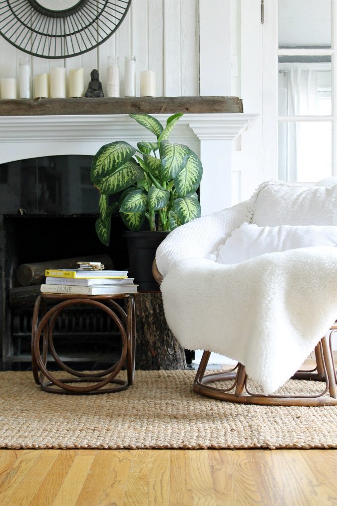 Neutral Zen Living Room Amp A New Rug The Wicker House