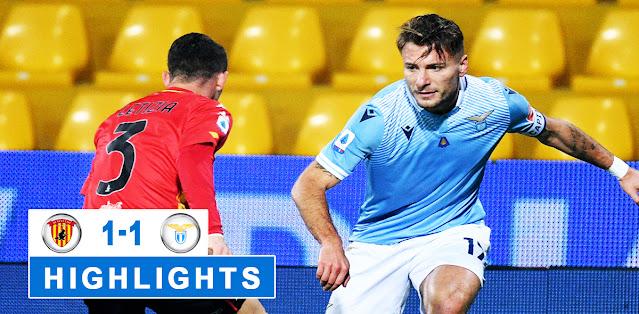 Benevento vs Lazio – Highlights