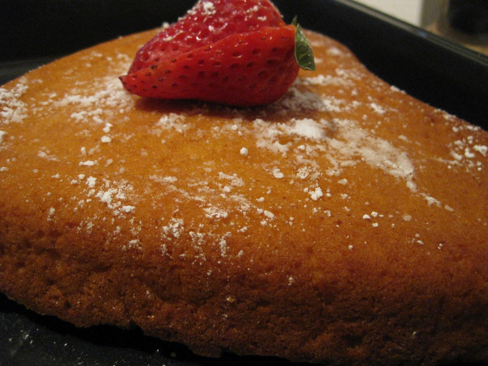 Veg Cake Recipe In Kannada: EGGLESS SPONGE CAKE