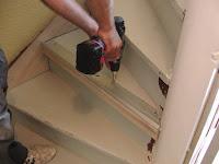 Treppenrenovierung - Der Akkuschrauber