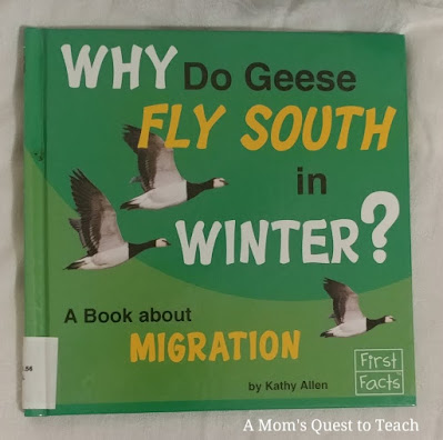 book cover of Why do Geese fly South for the Winter?