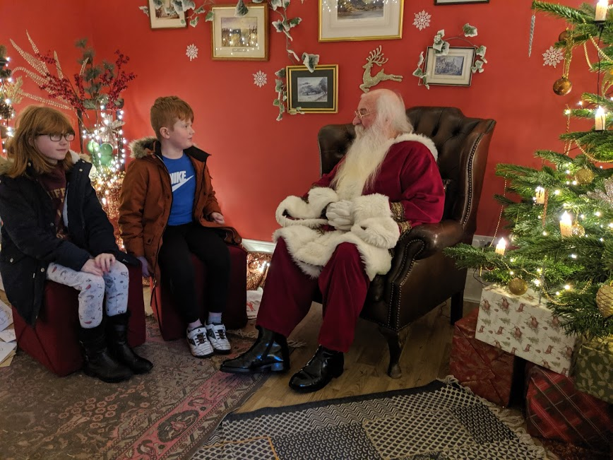 Christmas & Santa at Cragside Review - Father Christmas