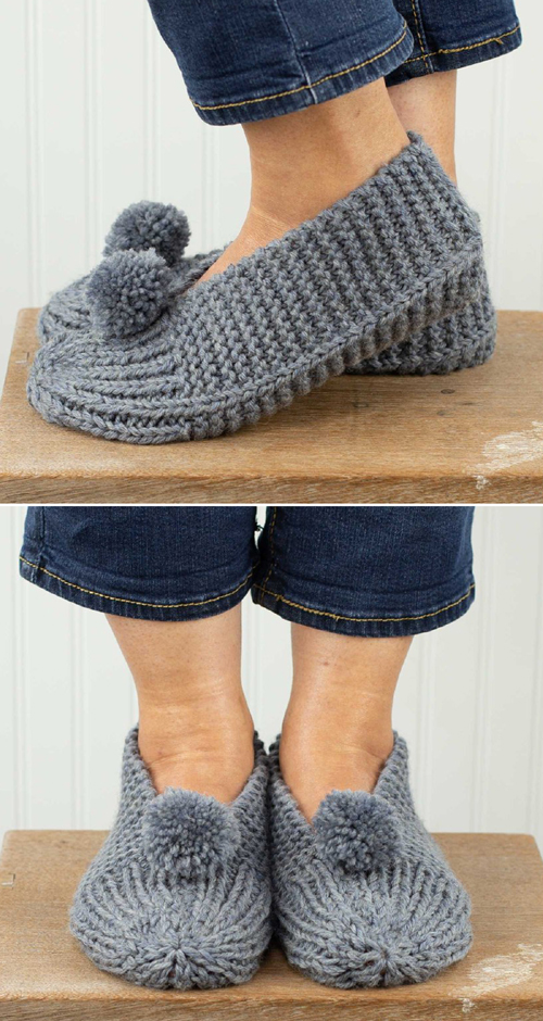 Family Slippers - Free Pattern