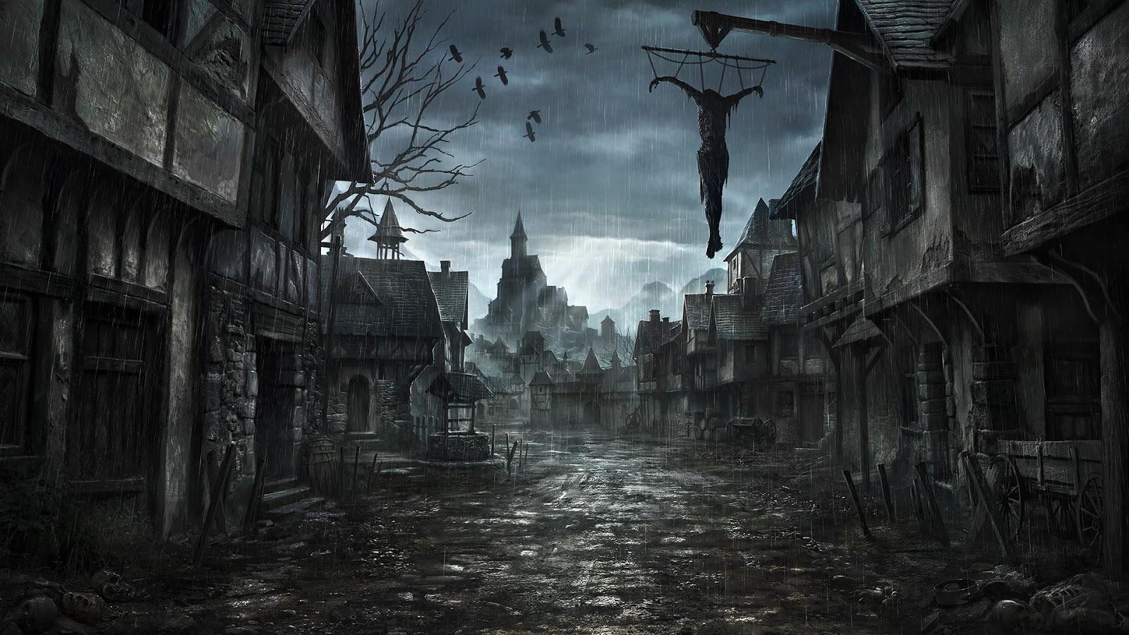 Tải Hình Nền Kinh Dị Bóng Tối Và Ma Quỷ Đầy Sợ Hãi