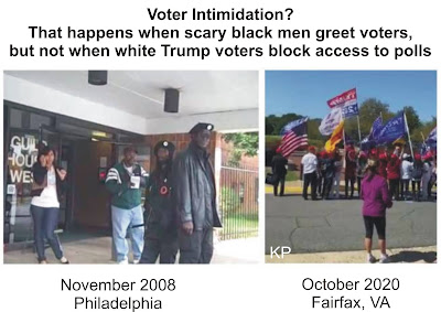 Voter Intimidation 2008 and 2020