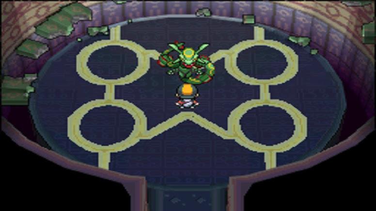 Pokémon HeartGold e SoulSilver Rayquaza