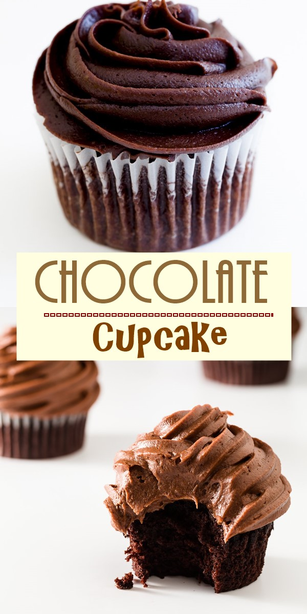 The Best Chocolate Cupcake Recipe #cupcakerecipes