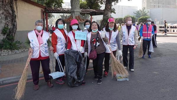 鹿港鎮公所年終大掃除誓師大會 攜手社區動起來
