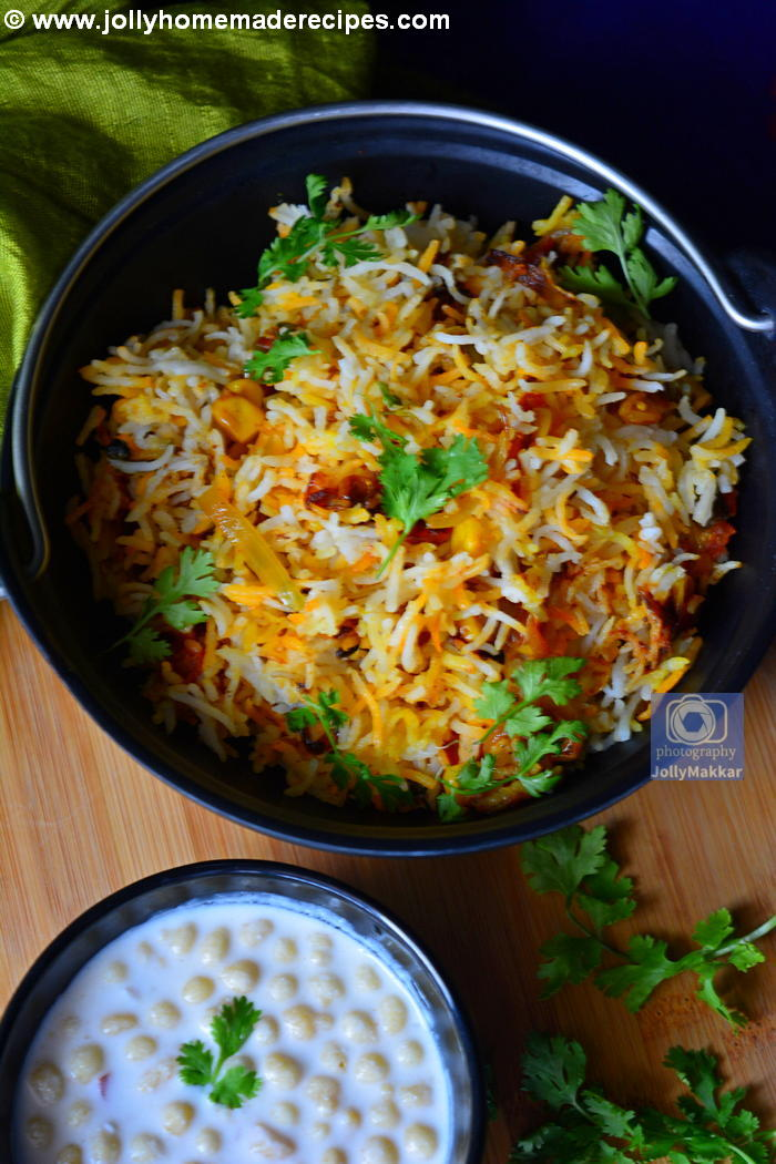 How to make Veg Biryani at Home