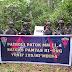 Prajurit Satgas Yonif 125/Simbisa Gelar Patroli Patok Batas Negara RI-PNG.
