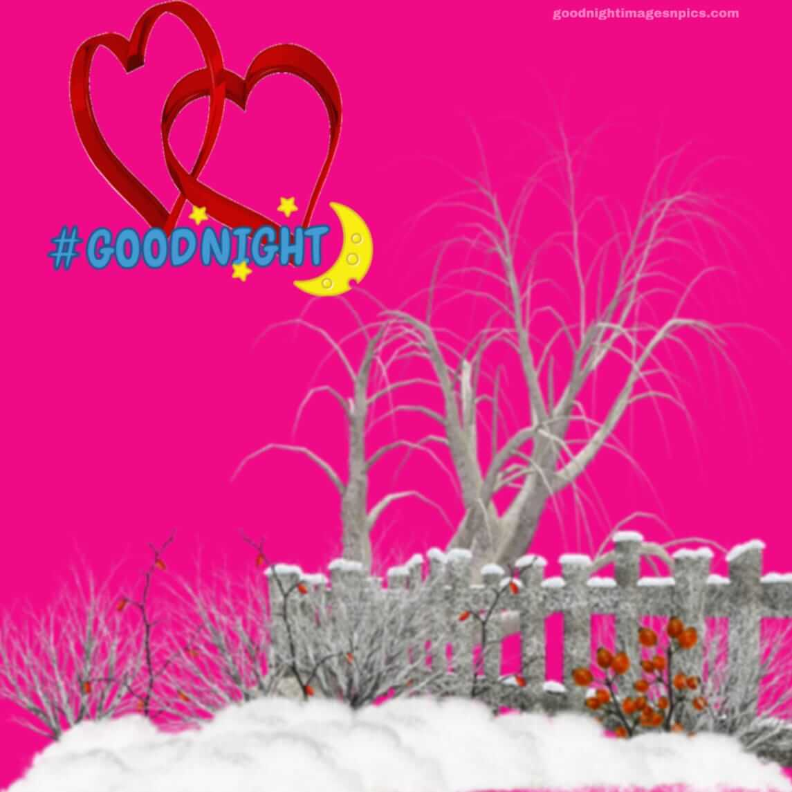 Good Night Images With Heart