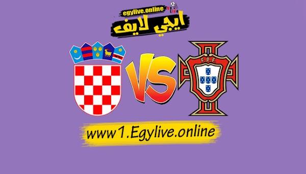 نتيجة مباراة البرتغال وكرواتيا اليوم بتاريخ 05-09-2020 من دوري الأمم الأوروبية