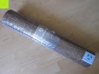 Verpackung: Jute-Yogamatte »Sampati Jute« / High Quality Matte aus hochwertigen Jutefasern und ECO-PVC. Atmungsaktiv, schadstofffrei und sehr robust. Ideal für häufige Yogaübungen. Maße: 183 x 61 x 0,5cm, in verschiedenen Farben erhältlich