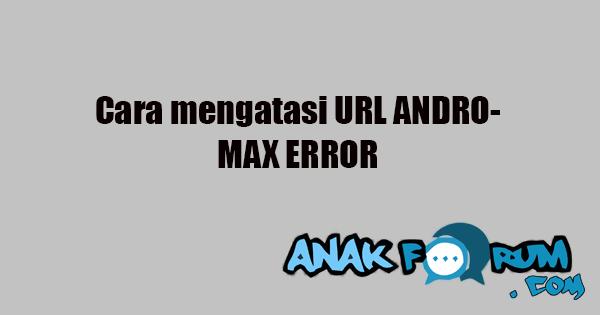 url andro error