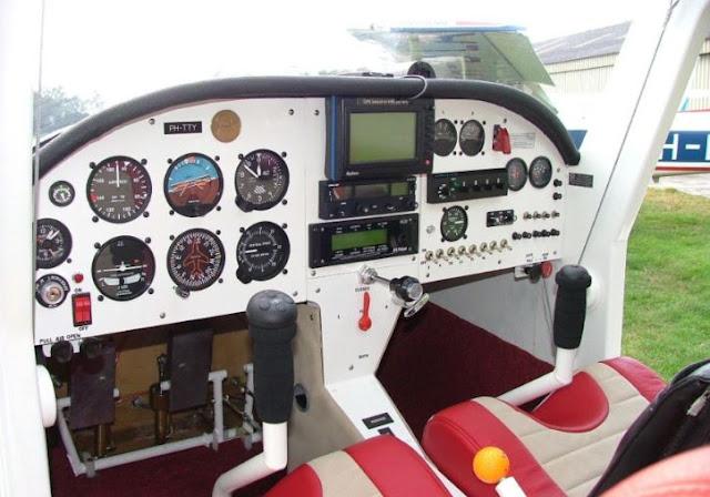 Kolb Flyer SS Cockpit