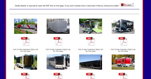 Need some inspiration for your custom cargo trailer? Check out previous order examples.