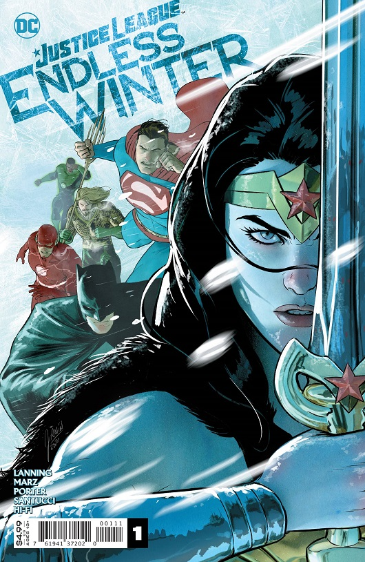 Cover of Justice League Endless Winter #1