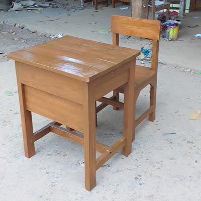Harga Meja Sekolah Kayu di Bandung