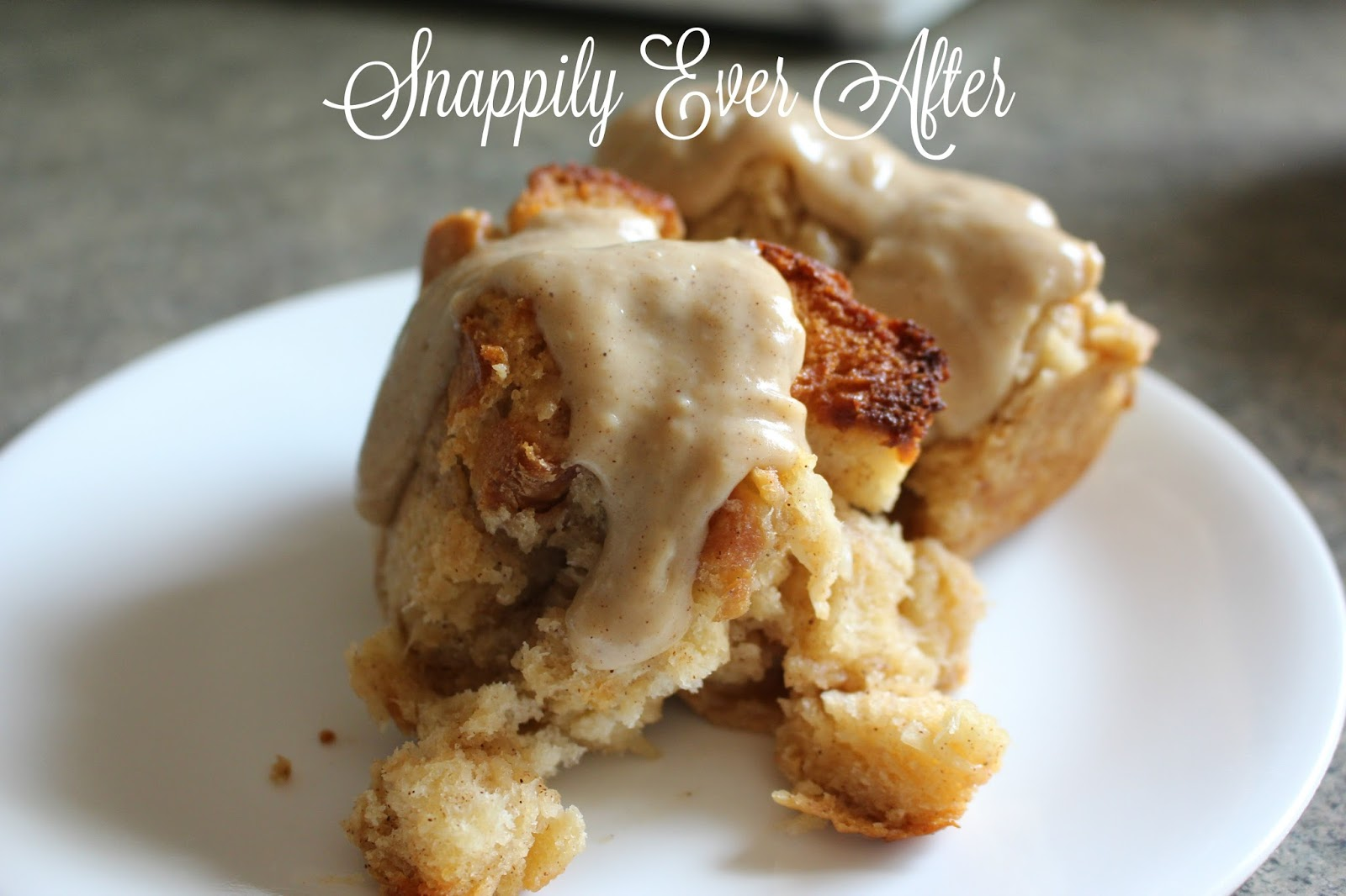 Snappily Ever After: Classic Bread Pudding with Vanilla ...