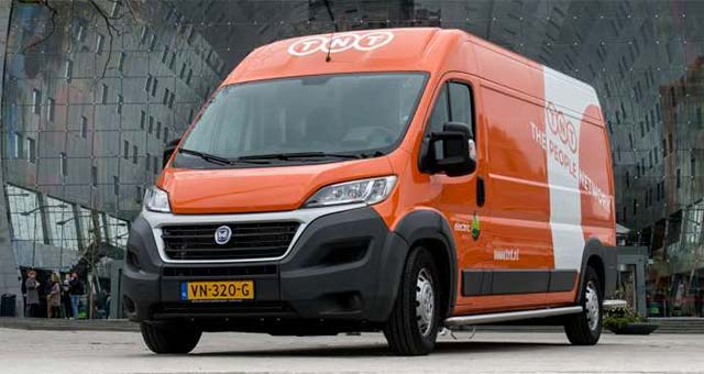3445fb126a TNT Introduce Electric Delivery Vans In The Netherlands