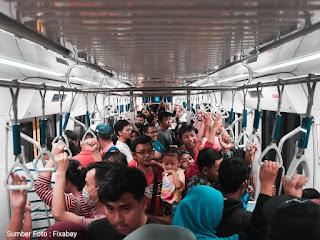 Gambar, PSBB Jakarta, kota Jakarta Jakarta saat pandemi covid-19
