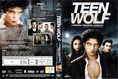 Série Teen Wolf 1º Temporada DVD Capa
