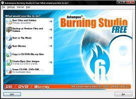 Download Ashampoo Burning Studio free