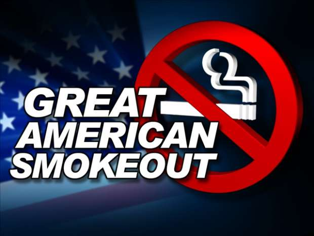 Great American Smokeout Wishes Lovely Pics