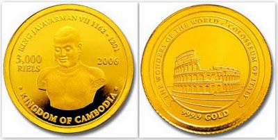 3000 риелей 2006 г. Камбоджа