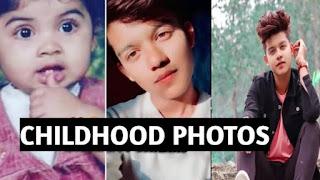riyaz ali Tiktok Star Childhood Photo